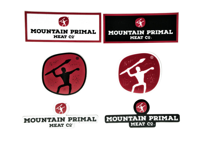 Mountain Primal Sticker Pack