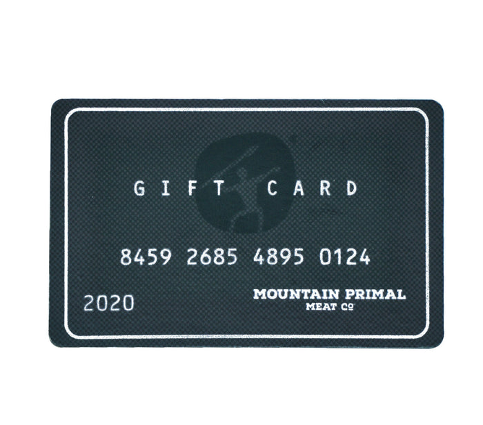 Mountain Primal Gift Card