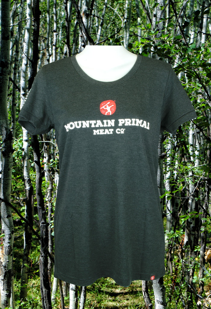 Charcoal Grey Mountain Primal Women's T-Shirt