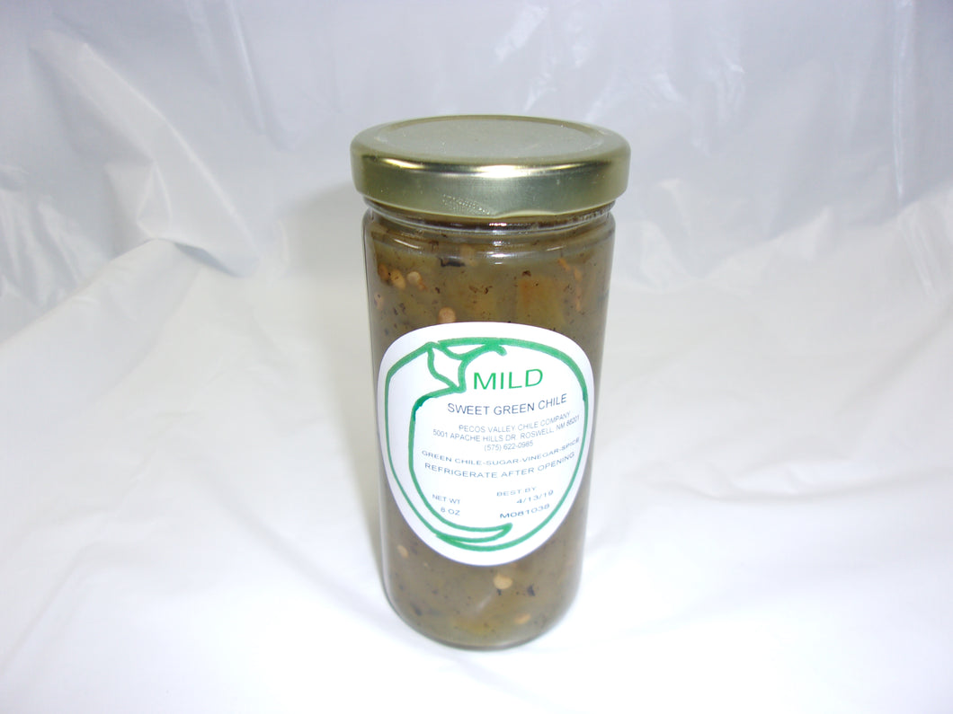 Sweet Green Chile Mild 8 oz