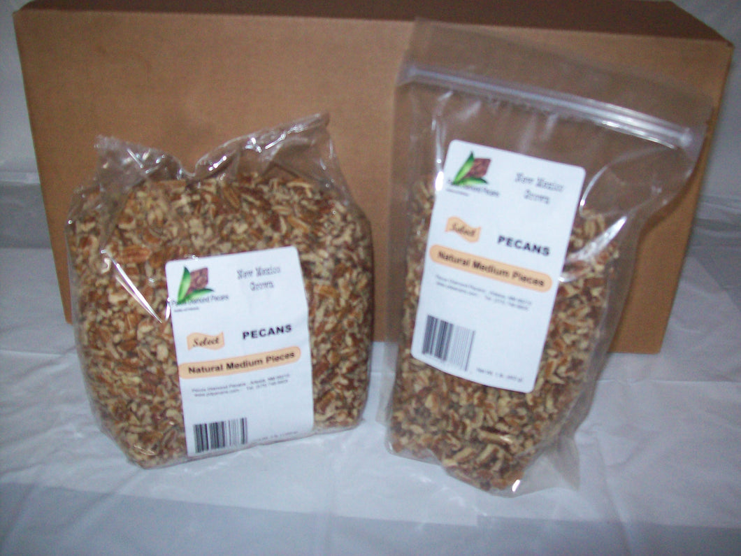 Select Natural Pecan Medium Pieces