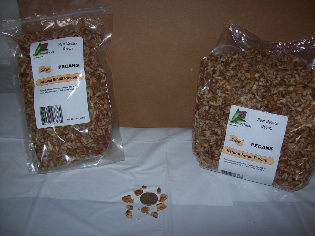 Select Natural Pecan Small Pieces