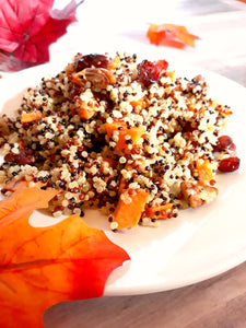 Tri Color Quinoa Salad