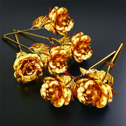 Timeless Gold Rose™ - Bouquet of Half Dozen