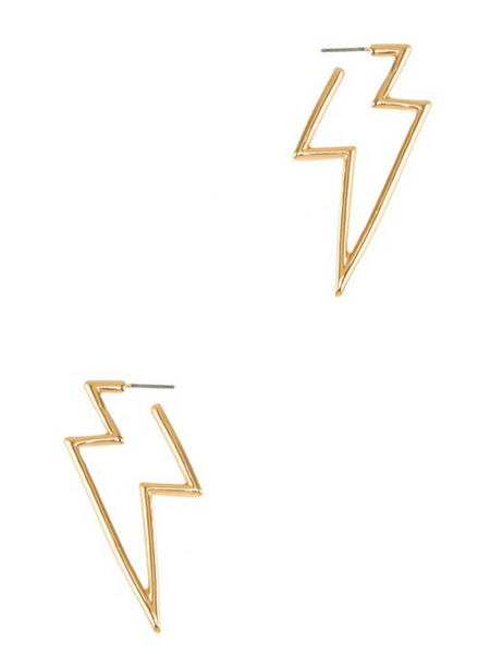 Striking Like Lightning Earrings
