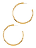Open Minded Hoop Earrings