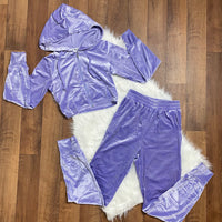 Not Your Babygirl Velour Tracksuit