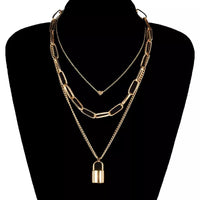 Love On Lockdown Multilayer Necklace