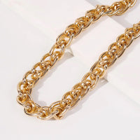 New Levels Chunky Chain Necklace - Gold