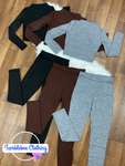 Falling For Me Knit Pant Set