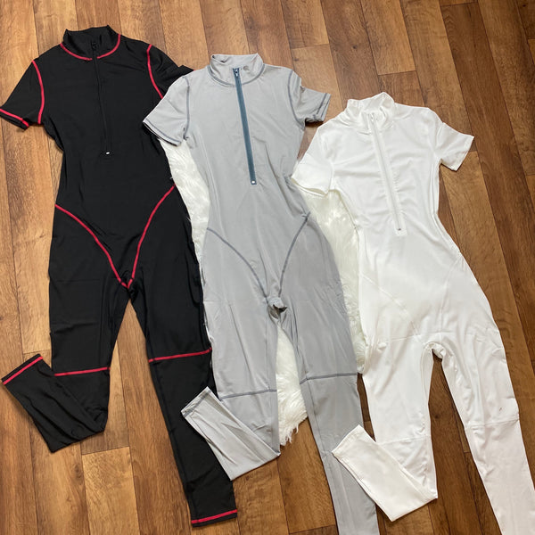 Roxanne Short Sleeve Sport Jumpsuit