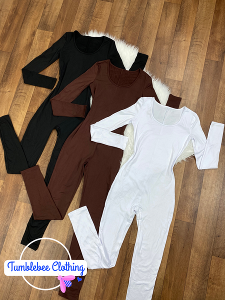 Best Interest Scoop Neck Jumpsuit