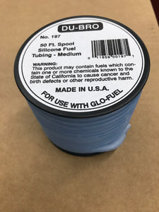 Dubro Medium Fuel Tubing DUB197