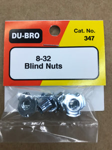 Dubro 8-32 Blind Nuts DUB347