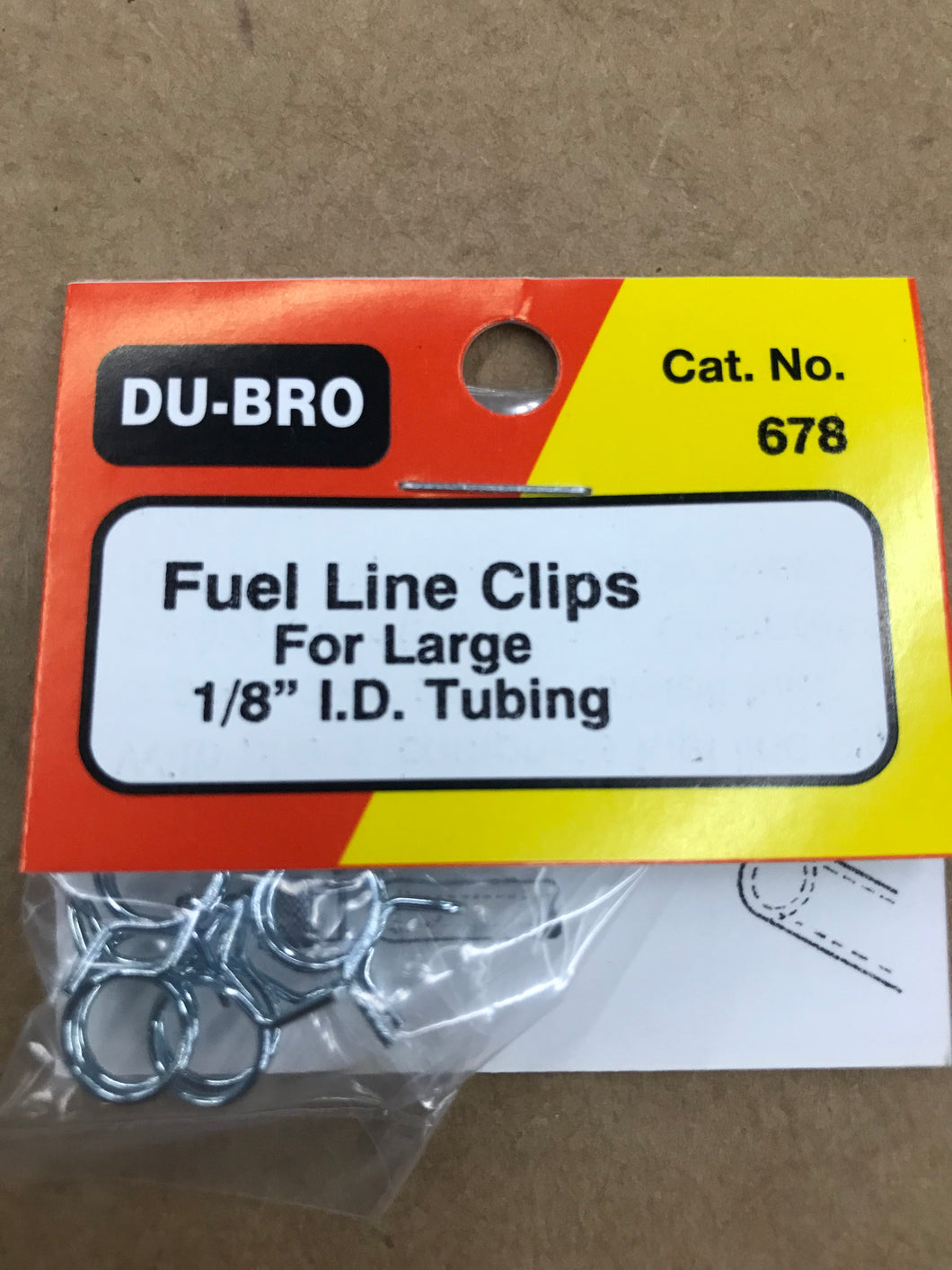 Dubro Large Fuel Line Clips DUB678