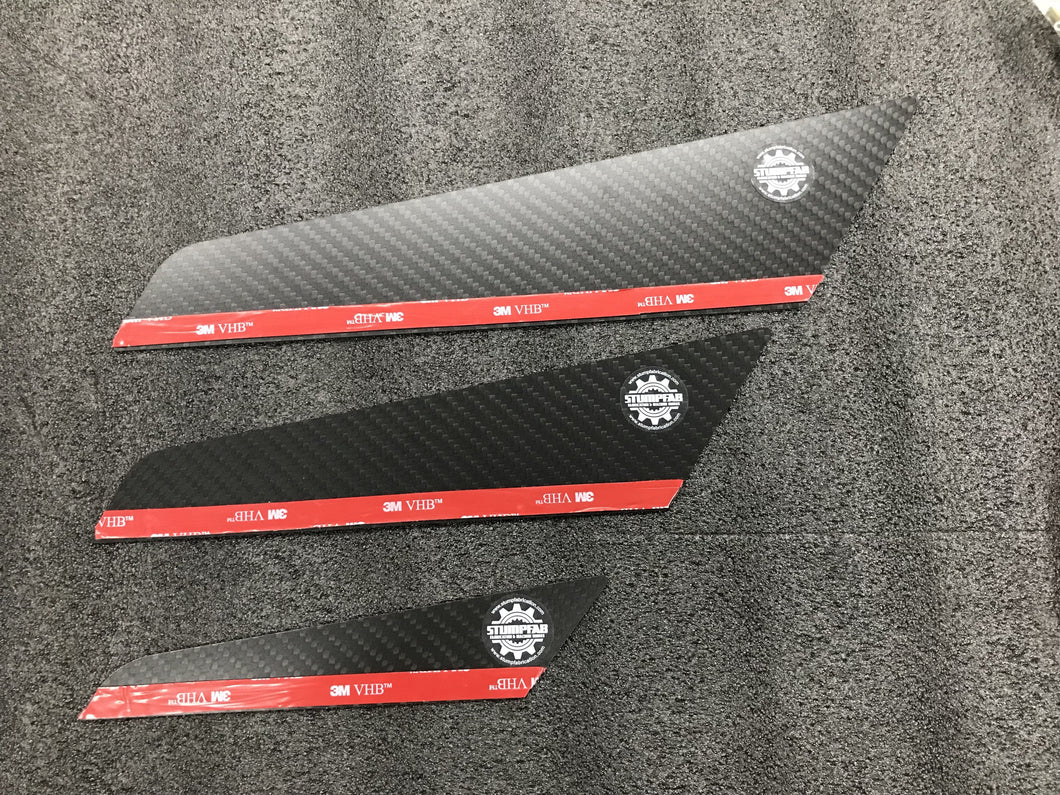 Tunnel Vertical Stabilizer Fins, Medium
