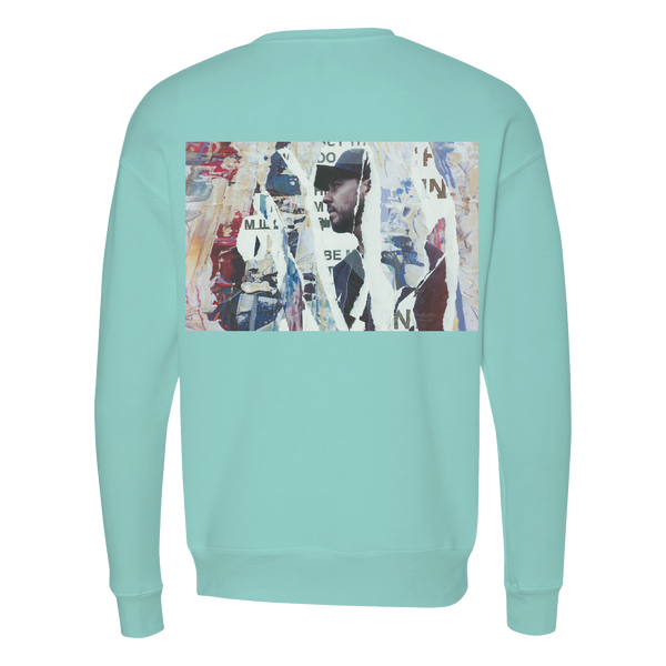 Disrupted Pullover Crewneck