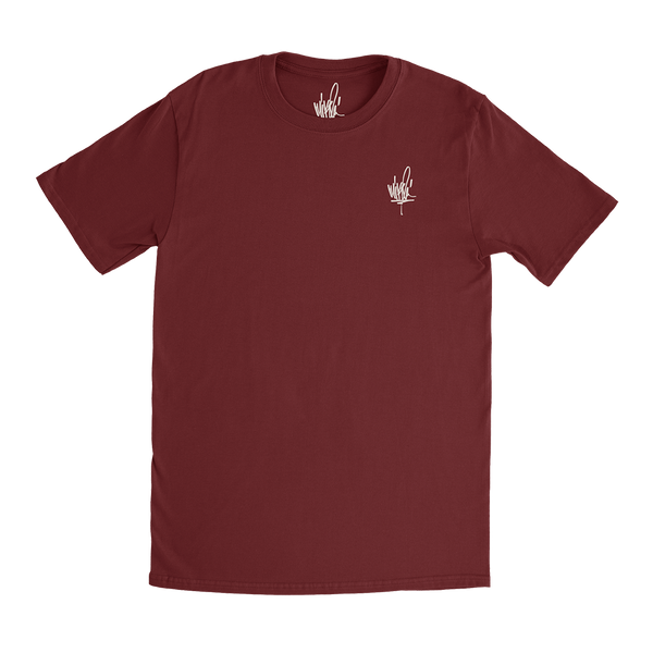 MS Signature Maroon Tee