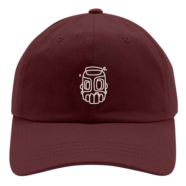 Line Sketch Maroon Hat