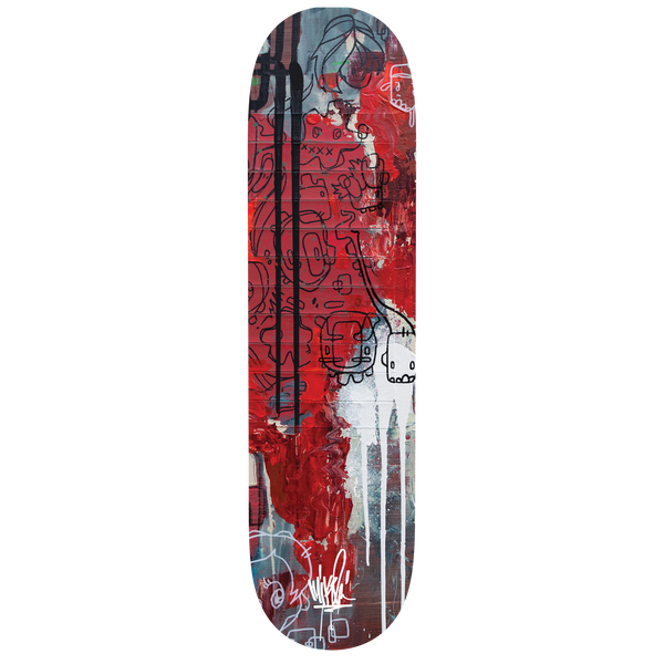 Connected Triptych Skate Deck 2