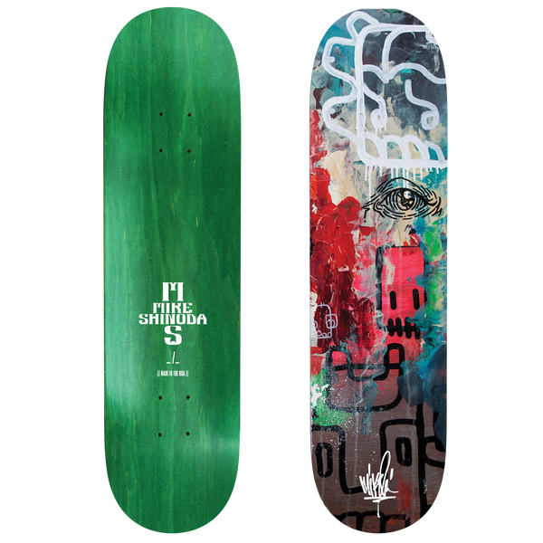 Connected Triptych Skate Deck 3