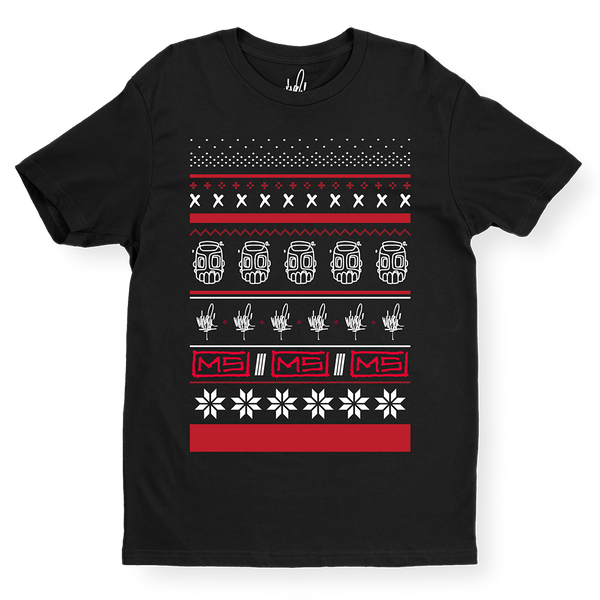 MS Line Sketch Holiday Tee