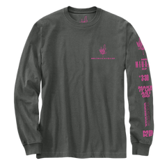 RUNNING SDRAWKCAB Long Sleeve Tee