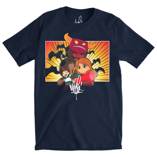 World's On Fire Tee