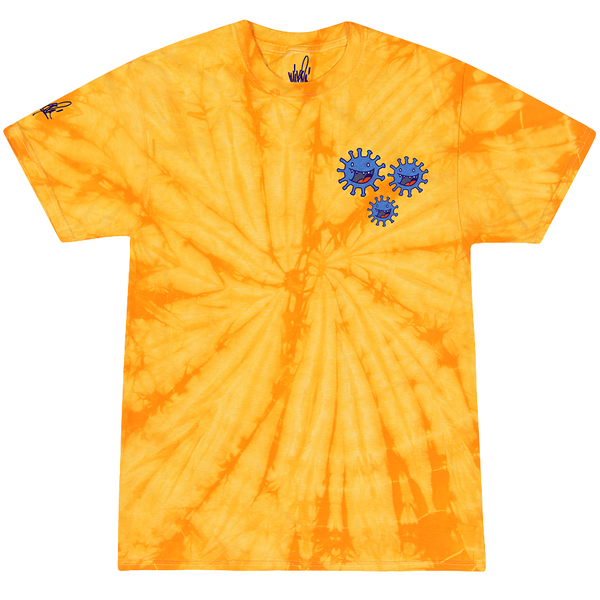 Boris and Virus Tie Dye Tee