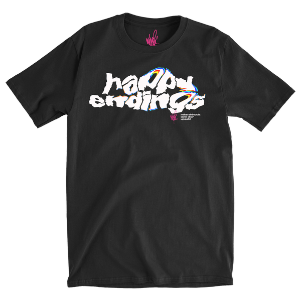 Happy Endings Logo Tee