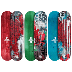 Connected Triptych Skate Deck Set