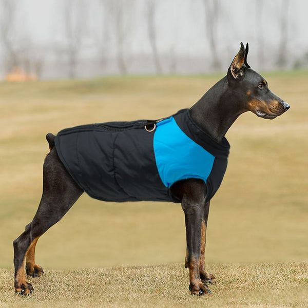 Waterproof Puffer Vest for Large Dogs