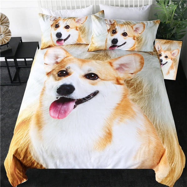 Corgi Duvet Cover Set