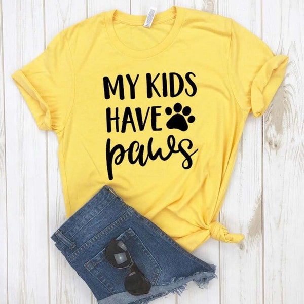 My Kids Have Paws Paw Design