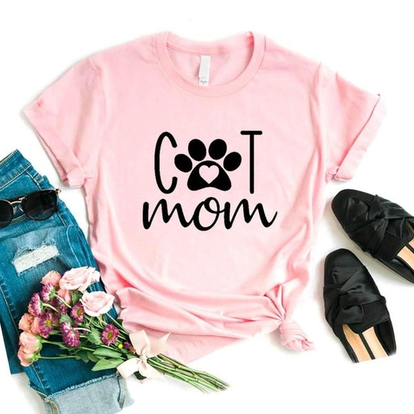 Cat Mom Fashion Tee