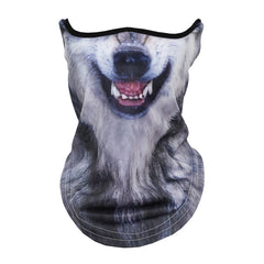 Arctic Wolf Face Mask