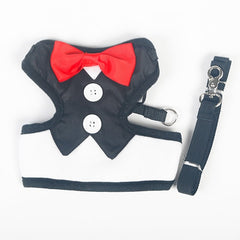 Red Bow Vest Harness