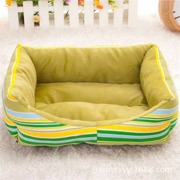 Stripes and Sleep Pet Bed