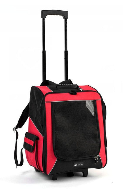 2-in-1 Roller Carrier and Backpack