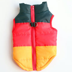 Warm Winter Windproof Vest Jacket For Small Pets