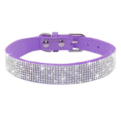 Rhinestone Collars for Toy Breeds