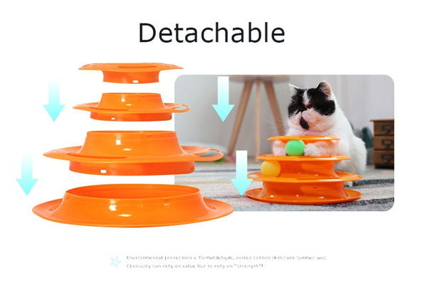 Tower of Tracks Cat Toy