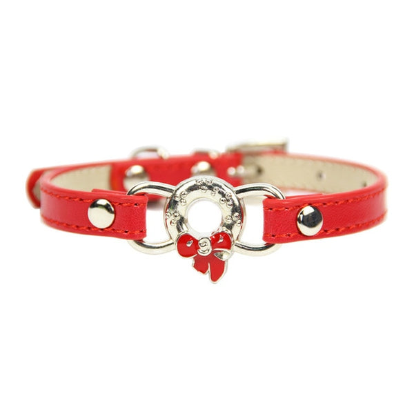 Leather Collar for Small Breeds