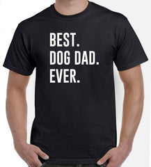 Best Dog Dad T-Shirt