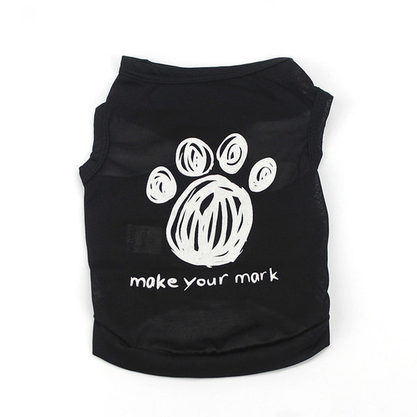 Fun Print Dog Tees