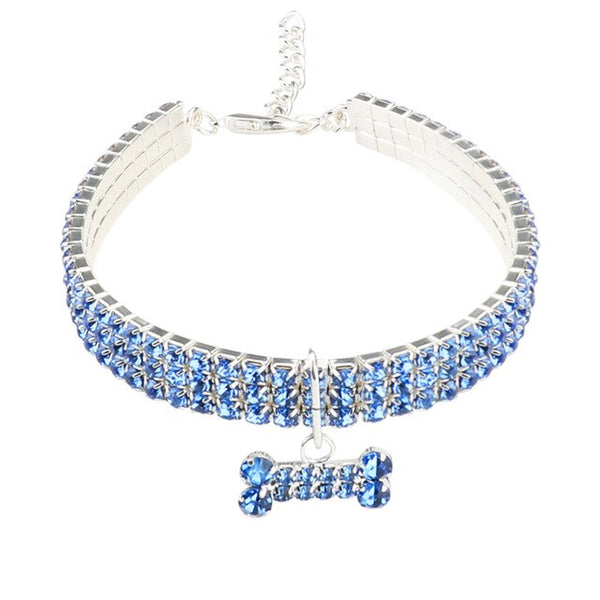 Bone Crystal Collar