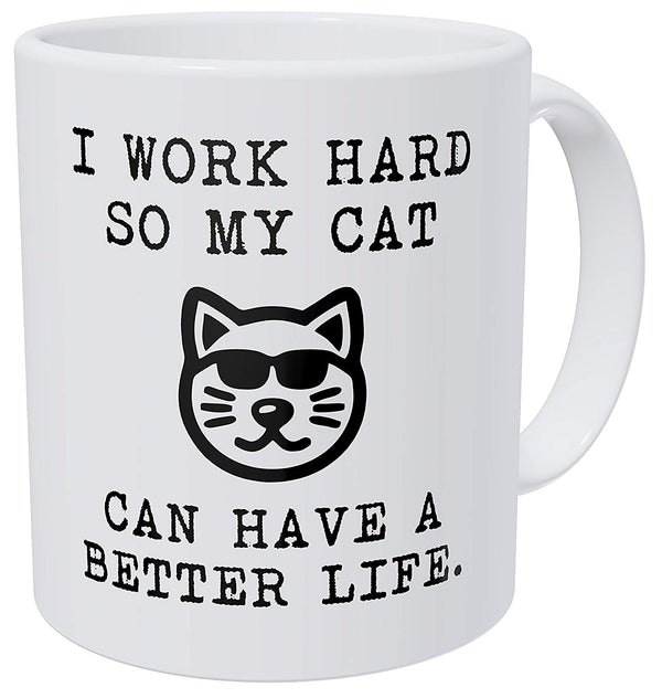 I Work Hard Coffee Mug