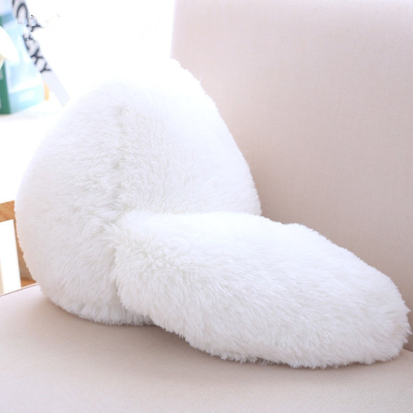 Fluffy Stuffed Kitty Pillow