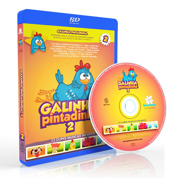 Bluray Galinha Pintadinha Vol. 2