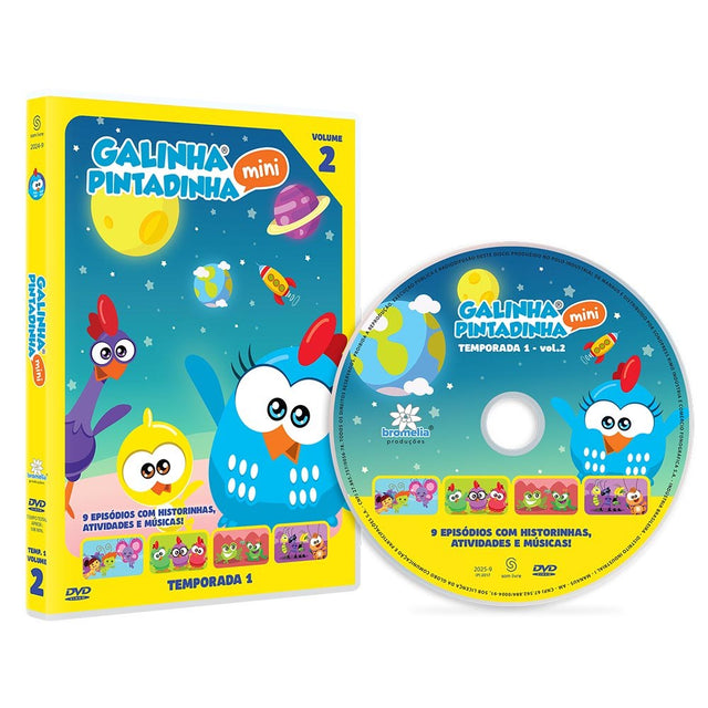 DVD Galinha Pintadinha Mini Vol. 2
